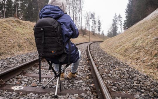 Walkstool: Stets eine Sitzgelegenheit dabei